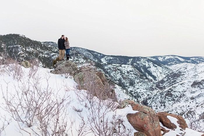 14 Train Engagement | Bergreen Photography | Via MountainsideBride.com