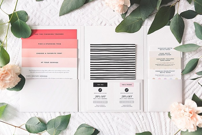 3 Wedding Paper Divas Sample Kits (6)