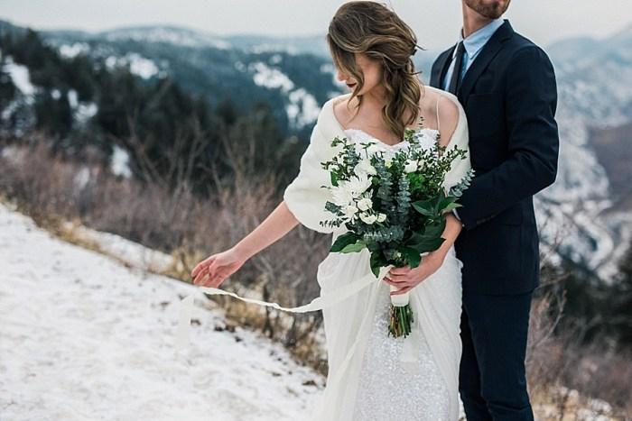 6 LookOut Mountain Colorado Bridal Shoot | Kyle Loves Tori Photography | Via MountainsideBride.com