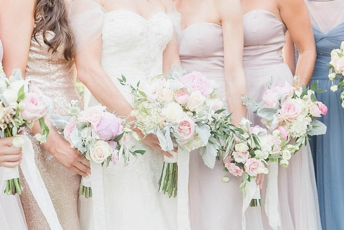11 Bridesmaid Bouquets 1 Sunshower Photography Via MountainsideBride.com