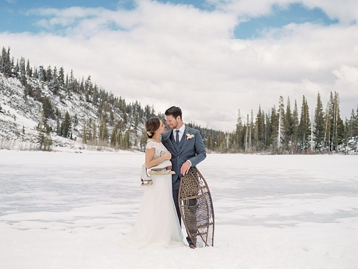 Waiting For Spring: Mammoth Lakes Winter Wedding Inspiration