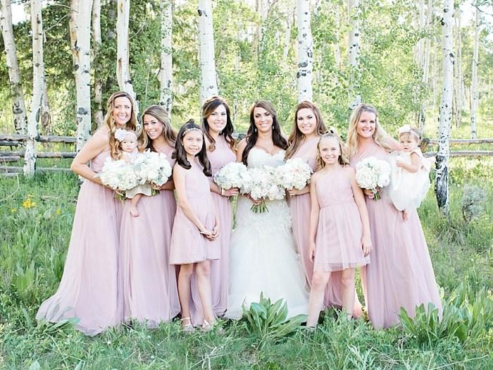 Dreamy Silverthorne Colorado Wedding with Pretty Blush Details
