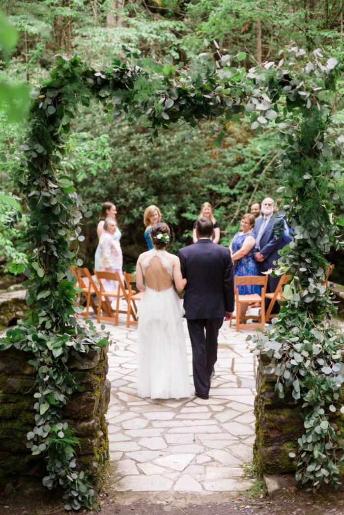 11 Father Of The Bride Spence Cabin Elopement JoPhotos Via MountainsideBride.com
