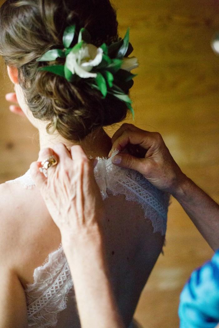 2 Wedding Hair Spence Cabin Elopement JoPhotos Via MountainsideBride.com