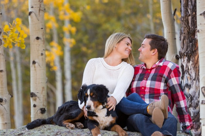 13 Fall Engagement In Vail Colorado Bergreen Photography Via MountainsideBride