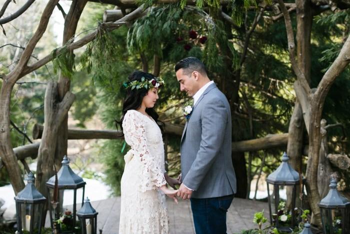 15 Big Bear Winter Wedding Inpiration Sarah Mack Photo Via MountainsideBride.com