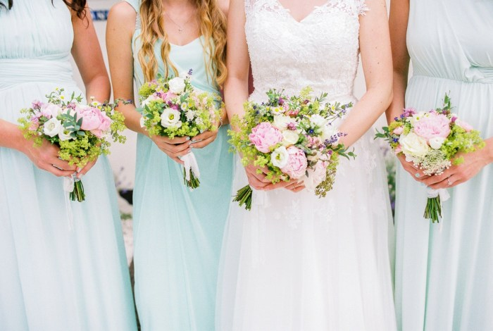 15 Ceremony Colorful Austrian Wedding Theresa Pewal Via MountainsideBride.com