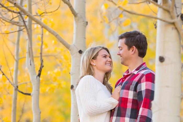 15 Fall Engagement In Vail Colorado Bergreen Photography Via MountainsideBride