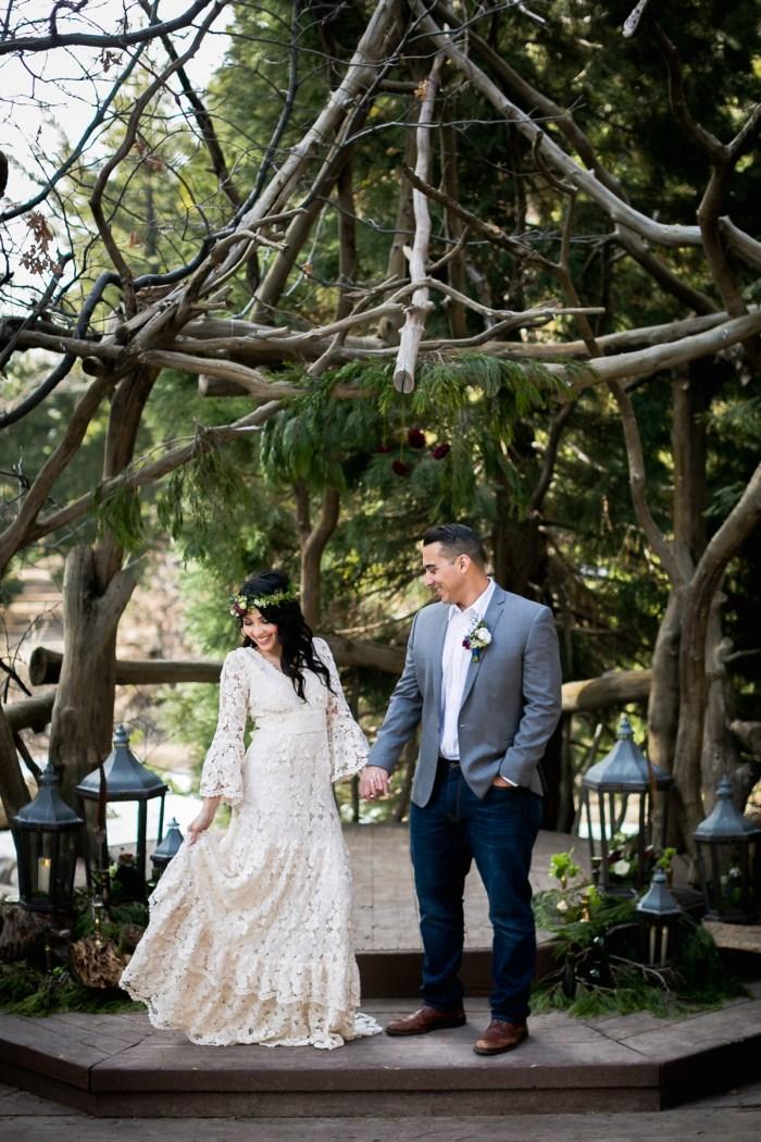 18 Big Bear Winter Wedding Inpiration Sarah Mack Photo Via MountainsideBride.com