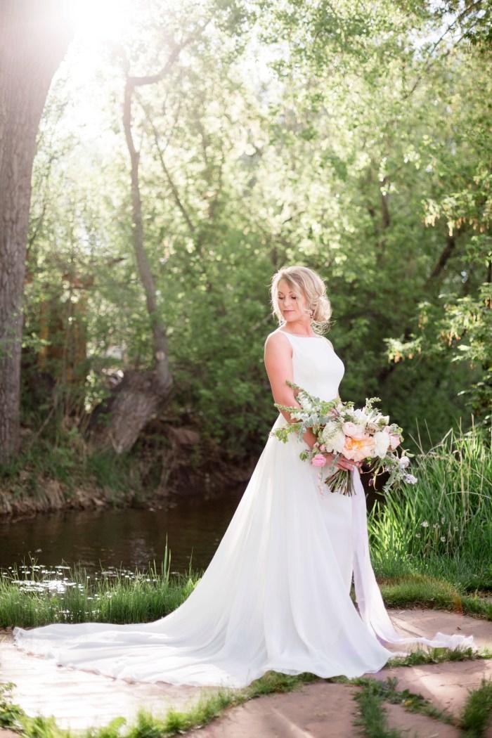 18 Kathyrn Elizabeth Bridal Style Sarah Roshan Via MountainsideBride.com