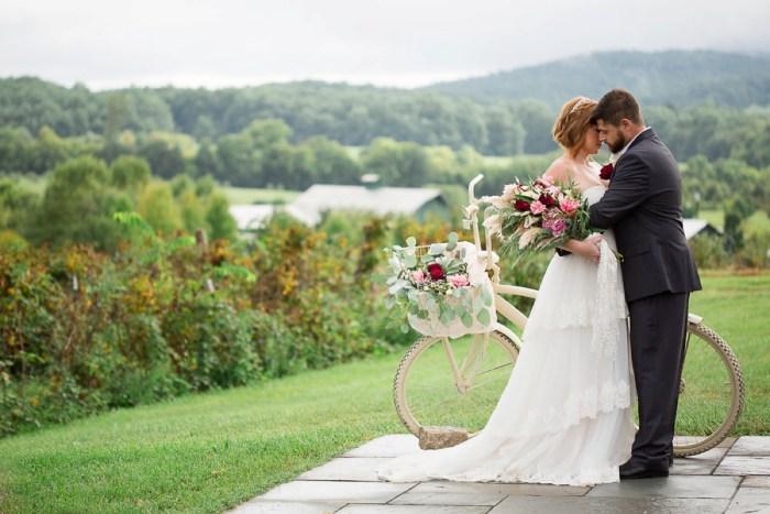 Romantic Vintage Wedding Ideas in the Blue Ridge Mountains