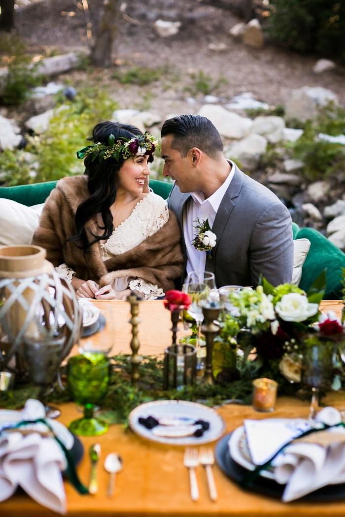 33 Big Bear Winter Wedding Inpiration Sarah Mack Photo Via MountainsideBride.com