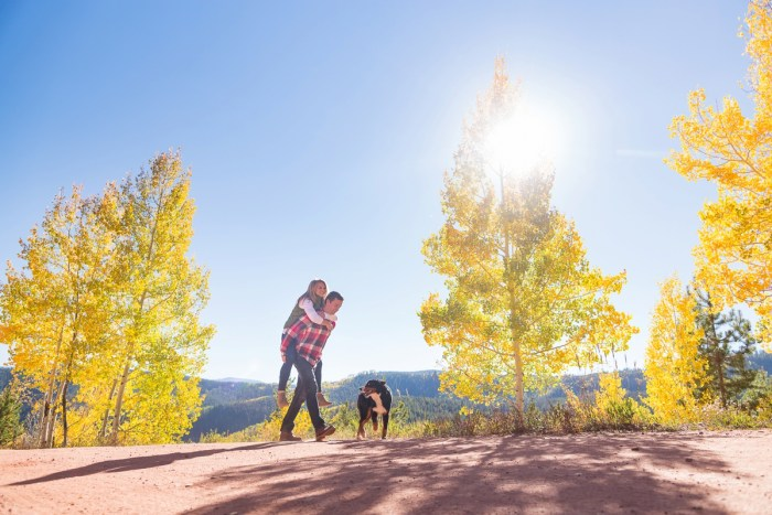 4 Fall Engagement In Vail Colorado Bergreen Photography Via MountainsideBride