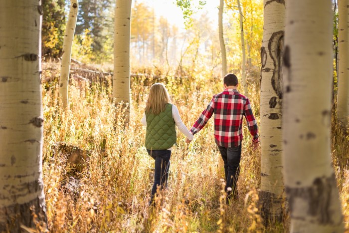 6 Fall Engagement In Vail Colorado Bergreen Photography Via MountainsideBride