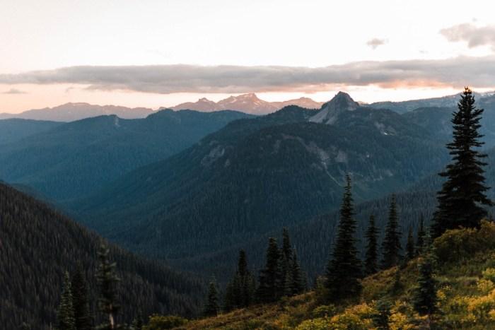 13 Mount Rainier Engagement Washington National Park The Foxes Photography Via MountainsideBride.com