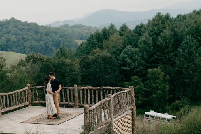 25 Asheville NC Appalachian Engagement DavidDrew Photography Via MountainsideBride.com