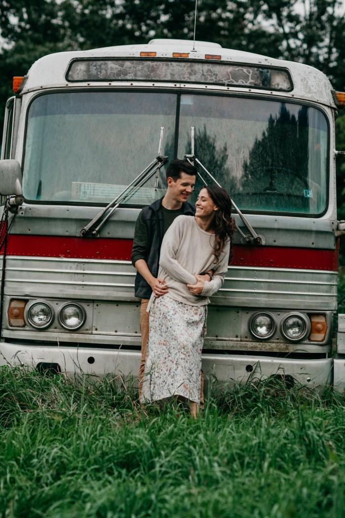 35 Asheville NC Appalachian Engagement DavidDrew Photography Via MountainsideBride.com