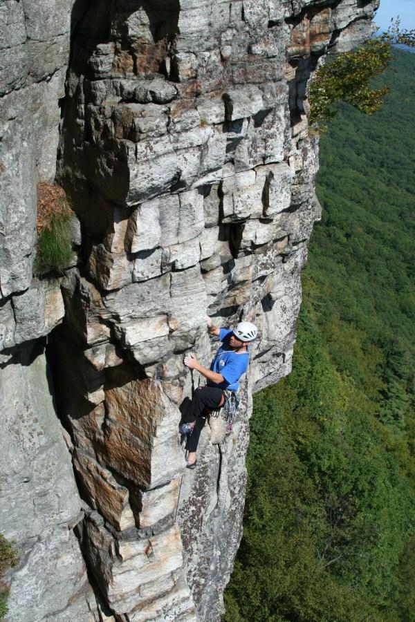 Rock Climbing Gunks New Paltz