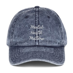 Mental Health Matters Embroidered Hat