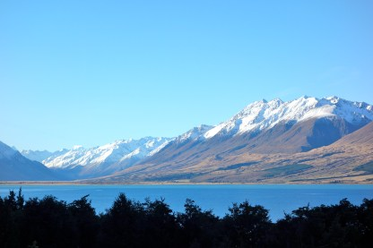 Last view back - and we're cruising back to Wanaka.