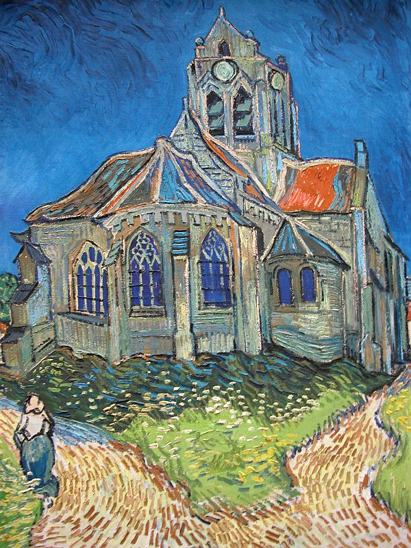 Musee D Orsay Van Gogh : musee, orsay, Paris, Musee, D'Orsay, Vincent, Church, Auvers-sur-Oise