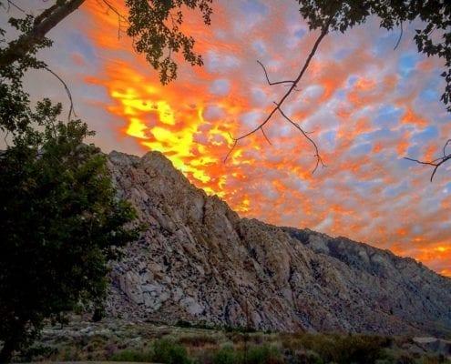 Sunset in Bishop
