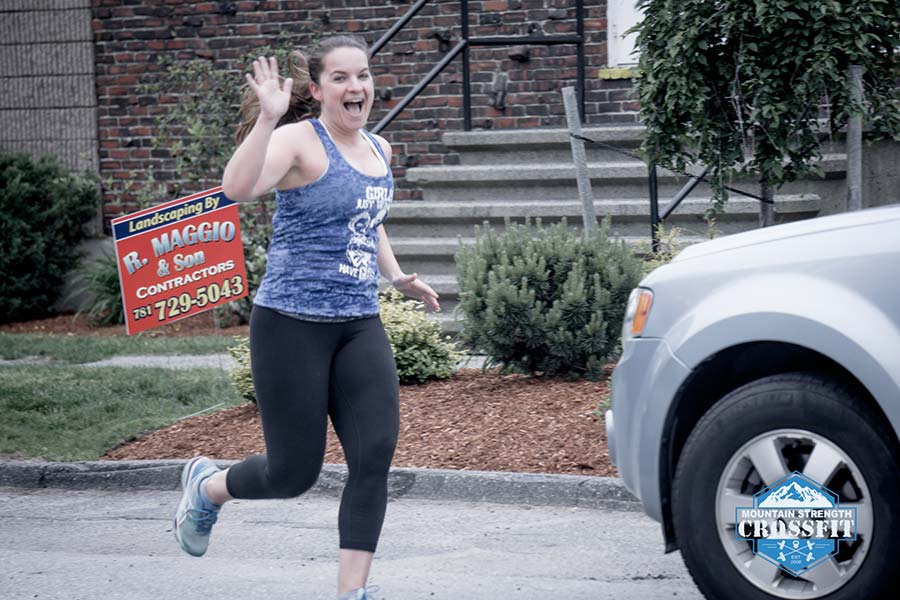 running and crossfit pt