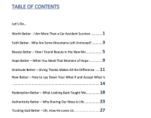 Table of Contents Let's Do Suffering Better by Ashley Stevens at mountainsunmoved.com