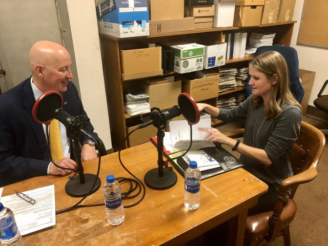 Ashley Stevens of Mountains Unmoved on The Nebraska Way podcast with Governor Ricketts