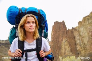 A photo from the movie version of WILD- courtesy of whosay.com