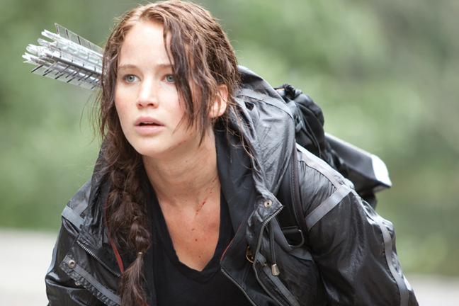Try rocking a french braid like Katniss.
