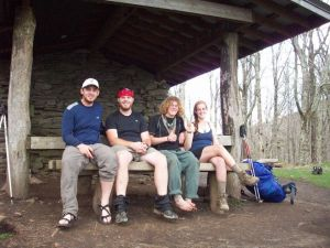 These gentlemen are fine examples of hikers who are not creepy.