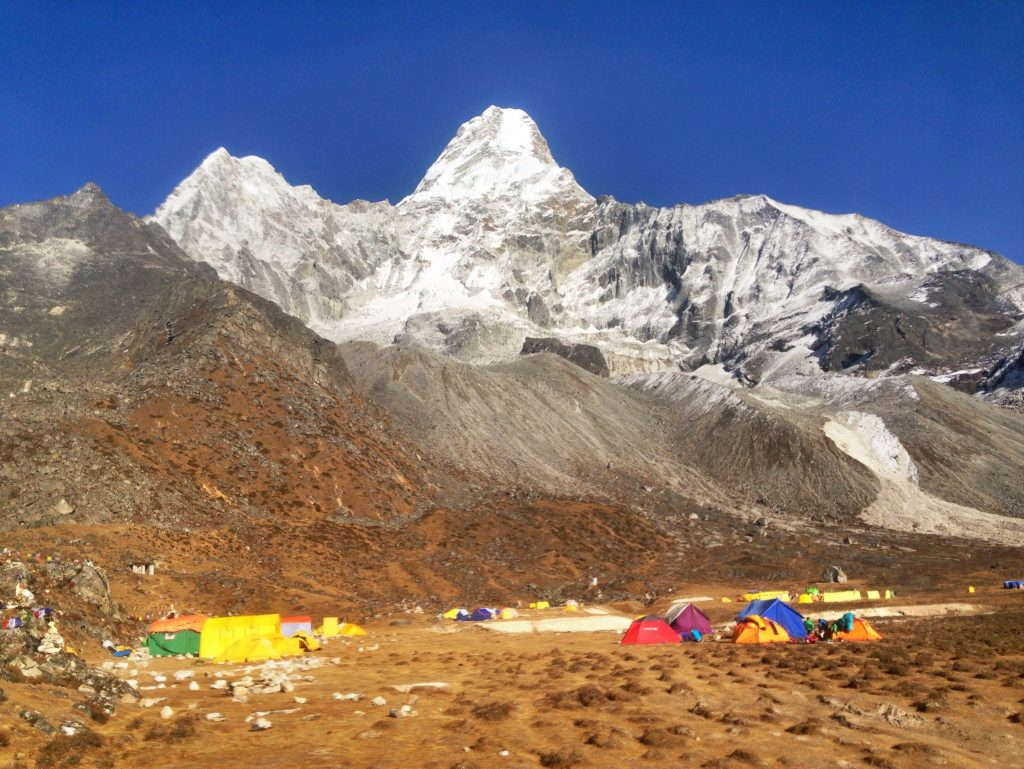 Ama Dablam Base Camp was one of my favorite side trips.