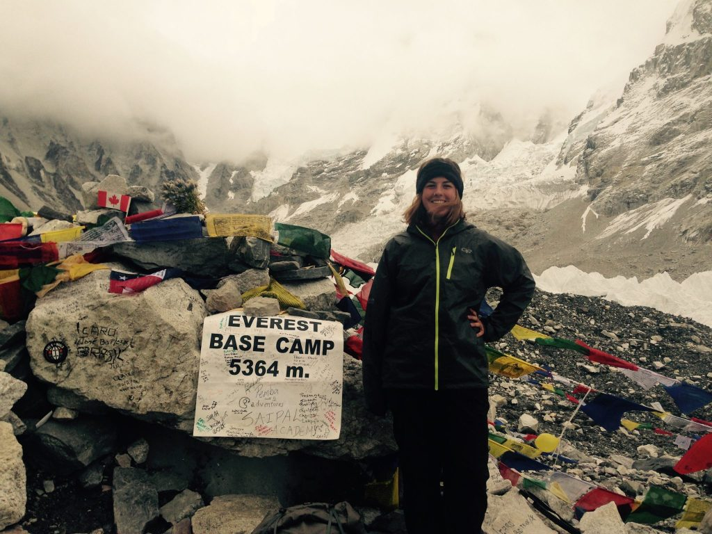Cloudy day at Everest Base Camp
