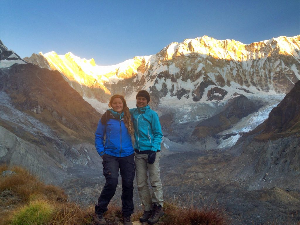 Friends I made in the Annapurnas.