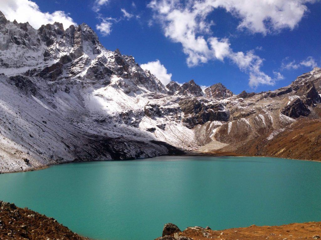 View from Gokyo village.