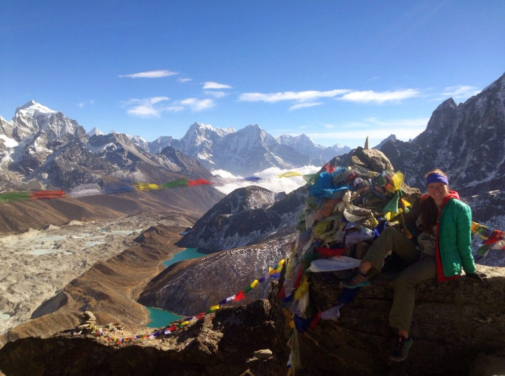 We spent Thanksgiving atop Gokyo Ri.