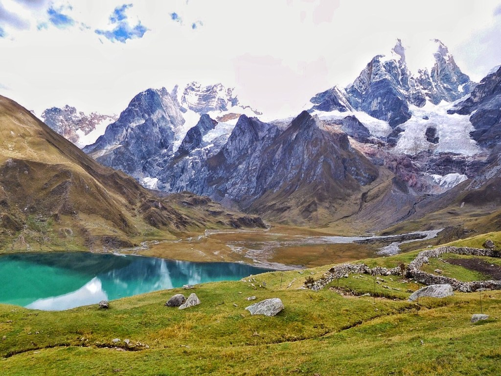Views for days on the Cordillera Huayhuash Circuit in Peru