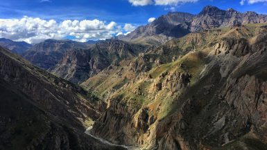 Hiking through Dolpa, Nepal, along the Great Himalaya Trail.
