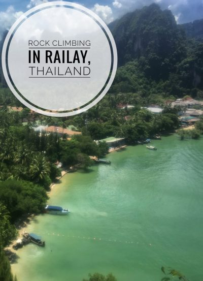 Rock climbing and relaxing are the top activities of Railay, Thailand.