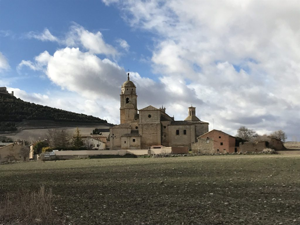 Walking a winter Camino de Santiago.