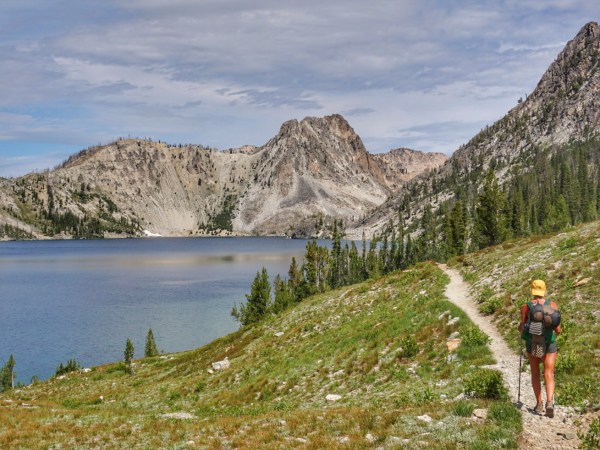 Sawtooth Lake in Stanley Idaho