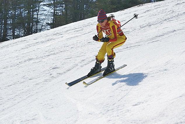 Retro racing Pico hosts Vermont Antique Ski Race  The