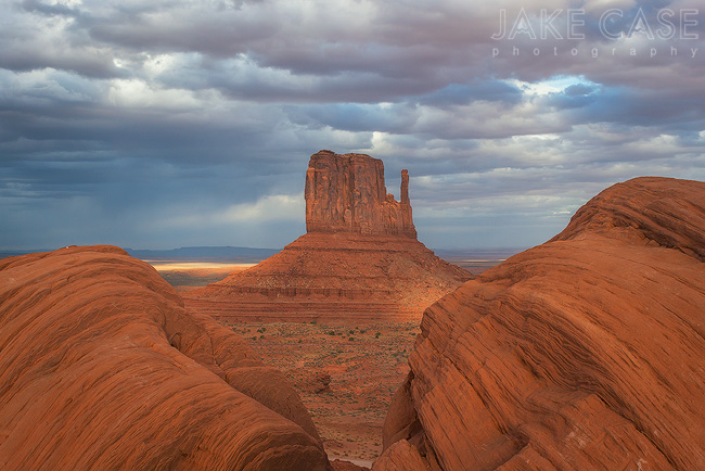 Ansel Adams Rock Monument Valley