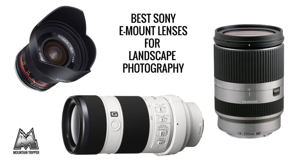 best sony e-mount lenses