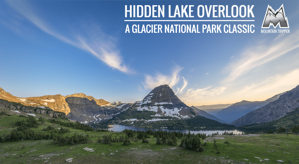 hidden lake overlook glacier