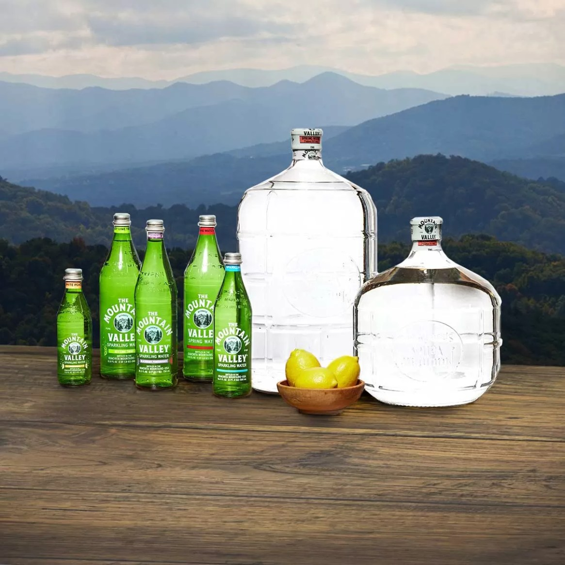Mountain Valley Spring Water Product Line
