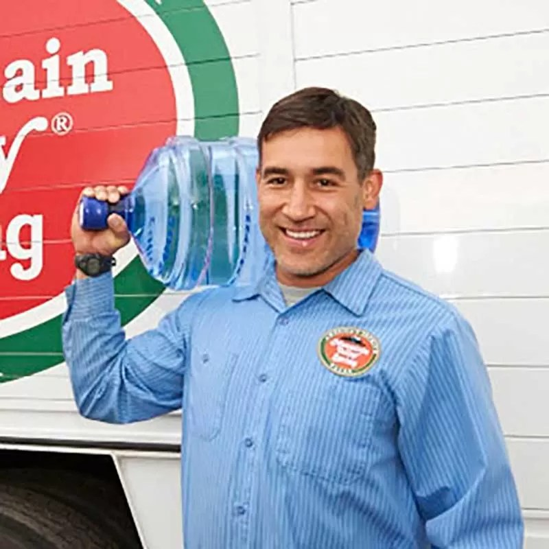 Water delivery with a smile
