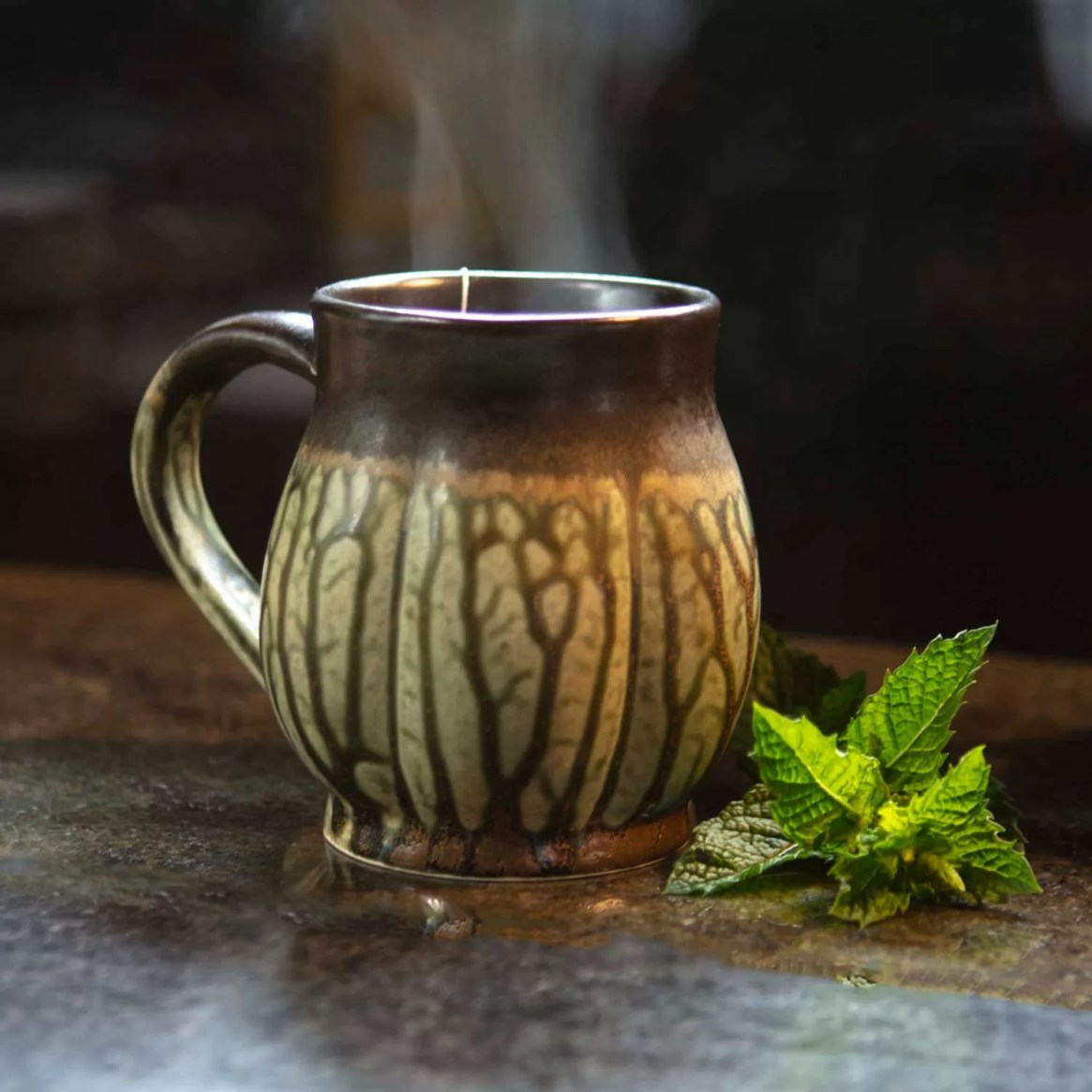 Hot Tea with Mint