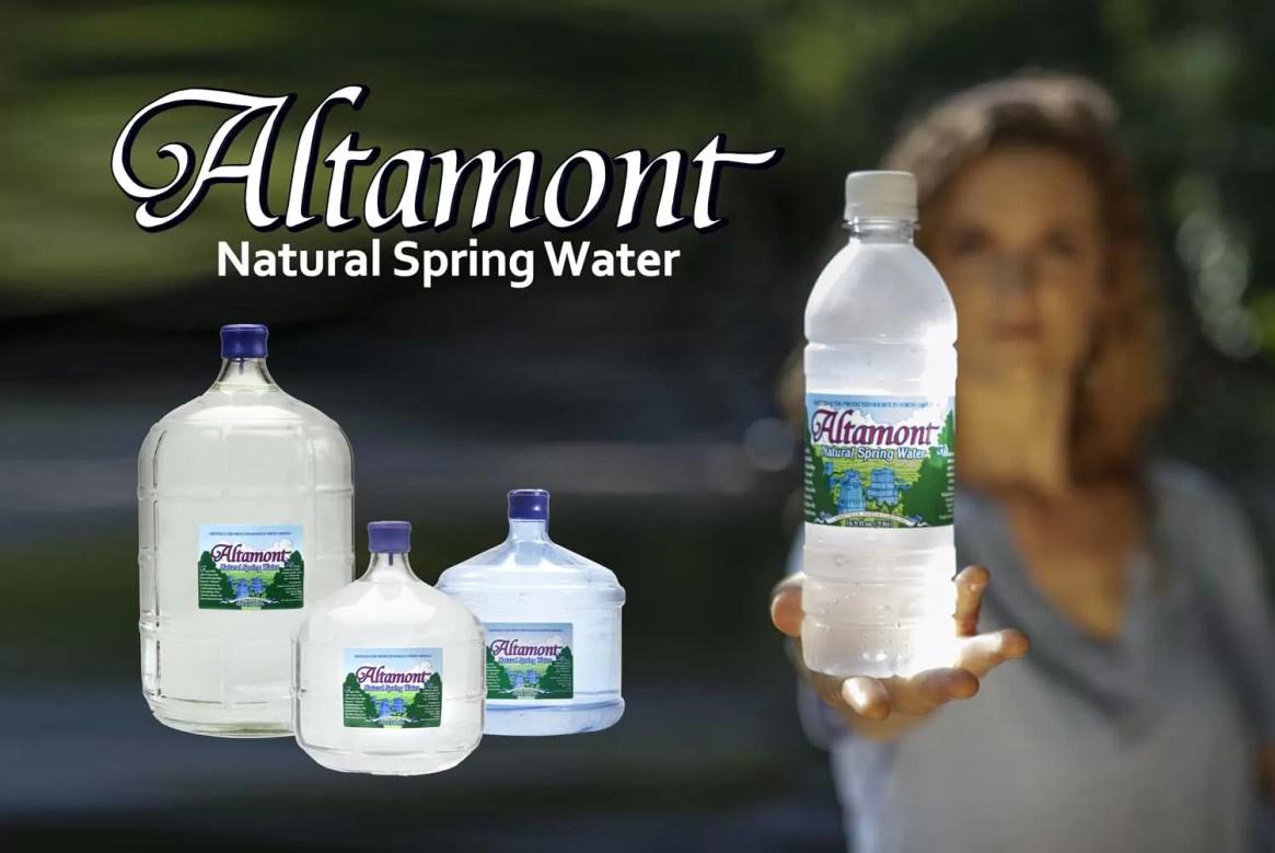 Altamont Natural Spring Water